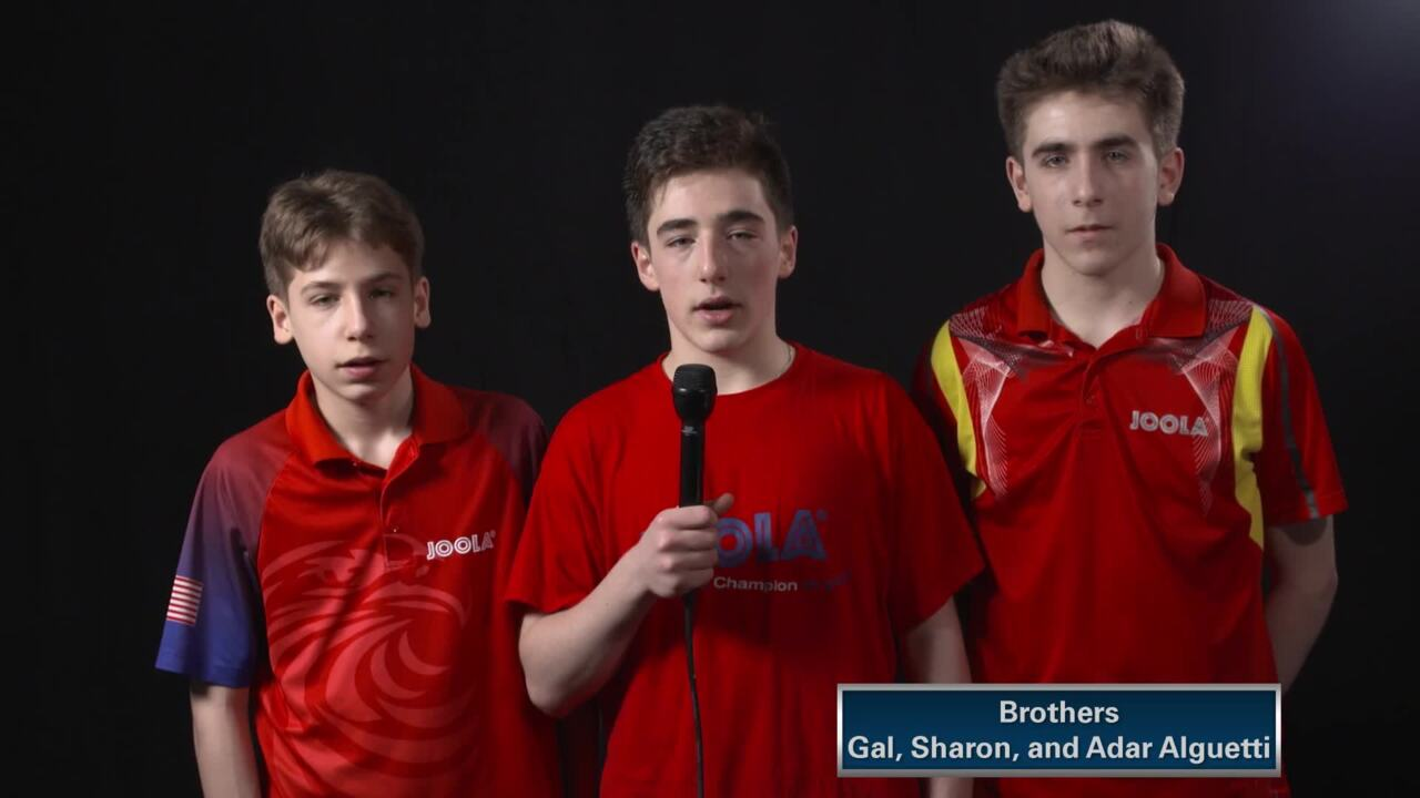 Table Tennis Team Trials Competition Talk