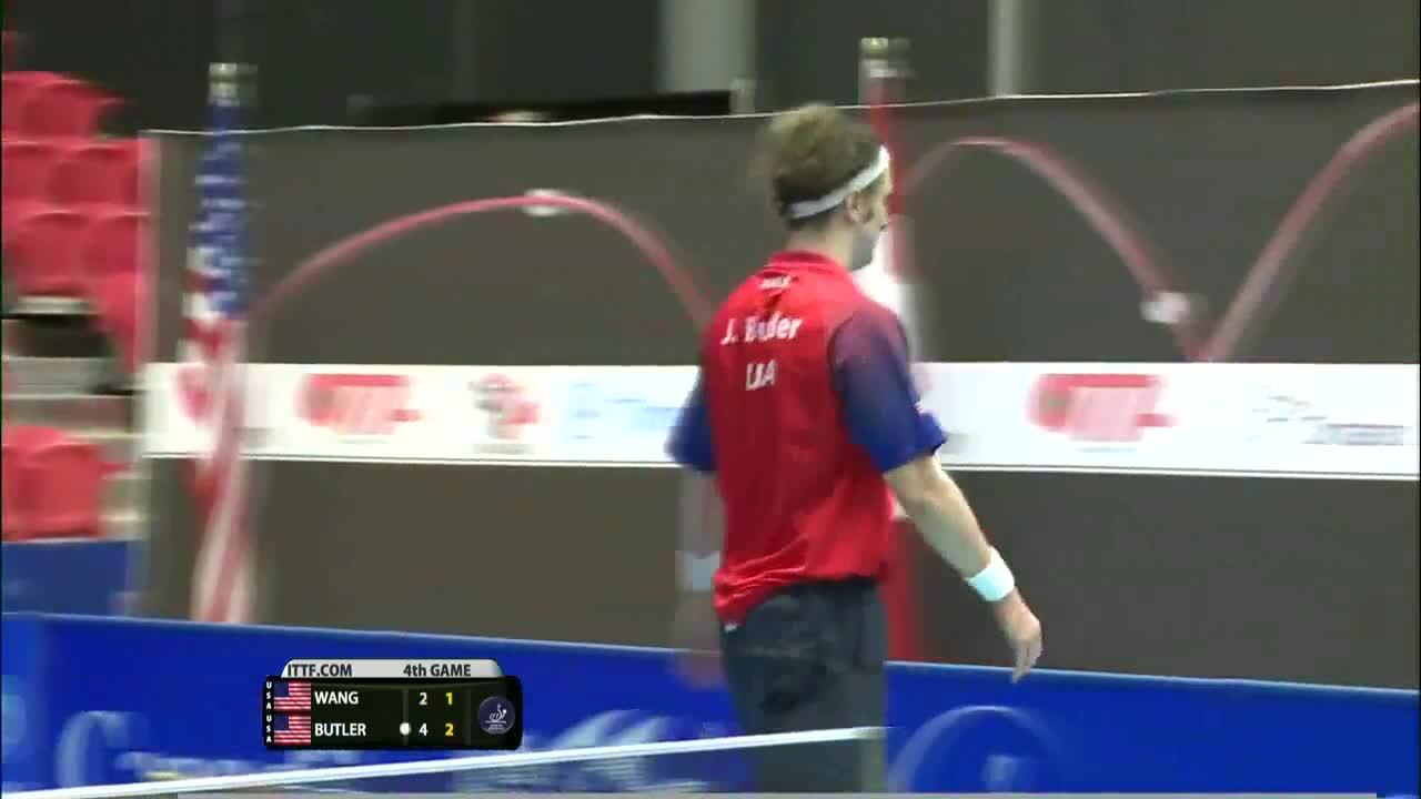 2015 ITTF - North American Cup Men's Singles Final