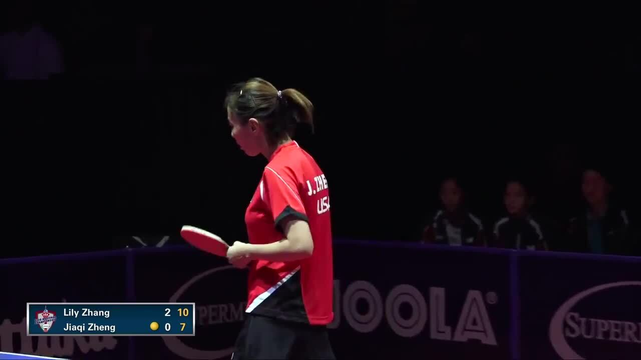 2016 Supermicro US National Table Tennis Championships Women's Singles Final