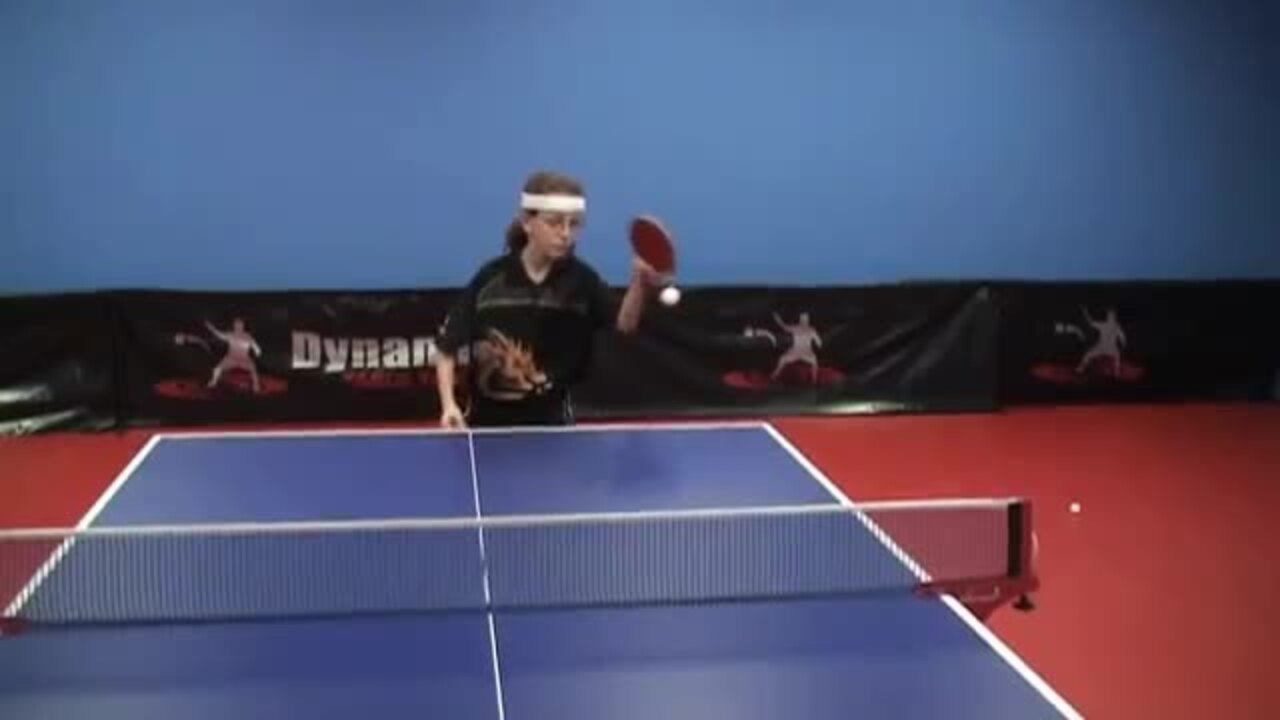 Learn to Play the Backhand Counterdrive with Brian Pace & USATT