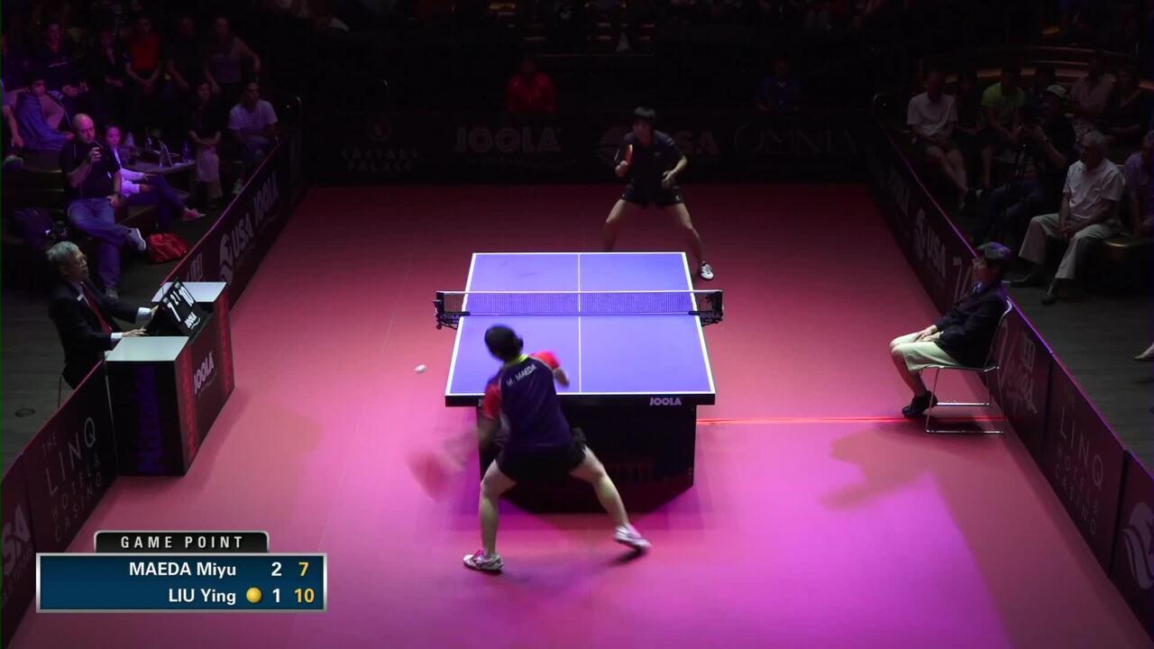 2015 US Open - Women's Singles Final: Miyu Maeda vs. Ying Liu