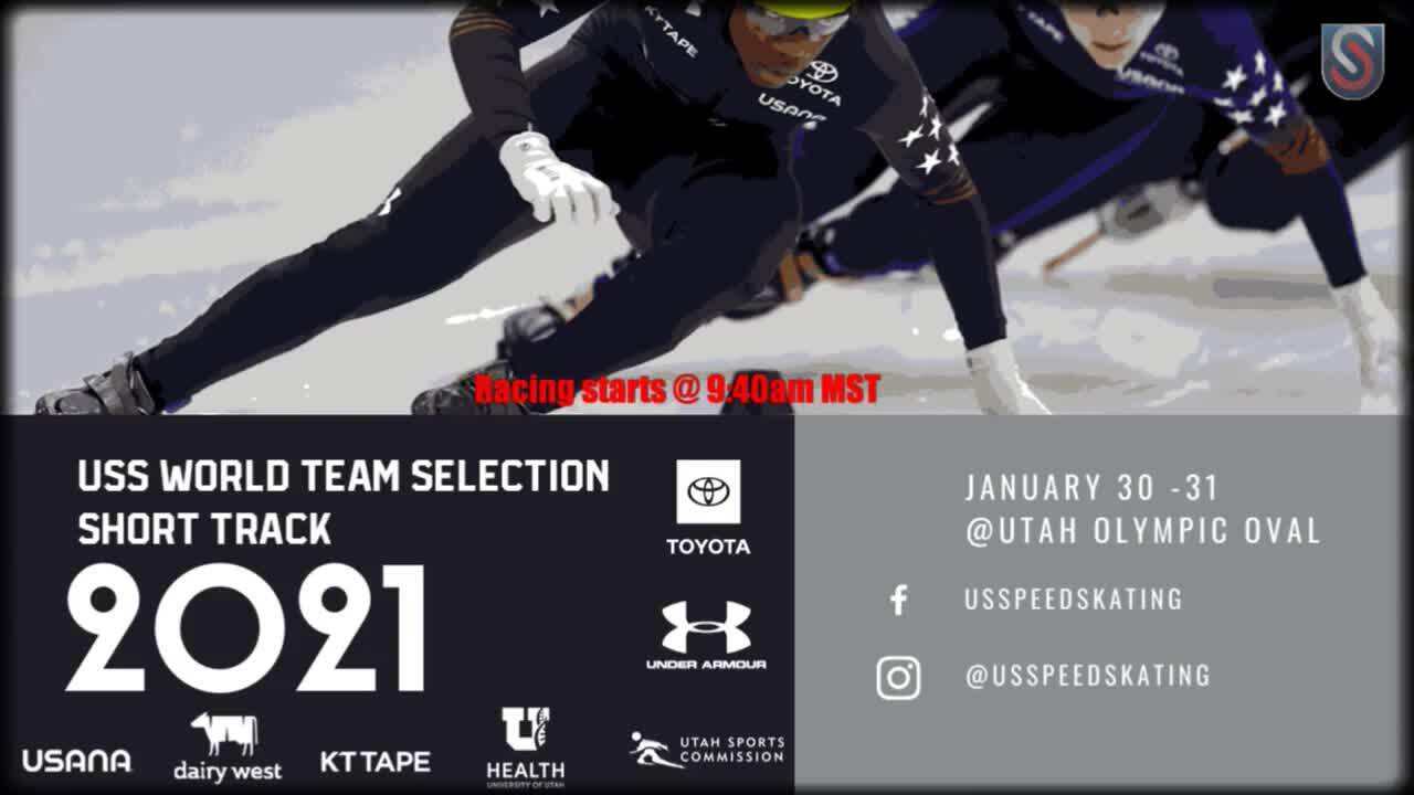 2021 US Short Track World Team Selection - Day 2