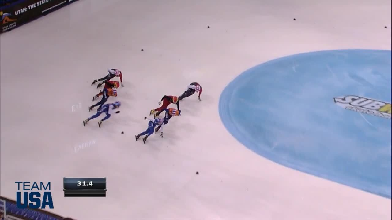 3000m and 5000m Relays   Apolo Ohno Invitational   Team USA