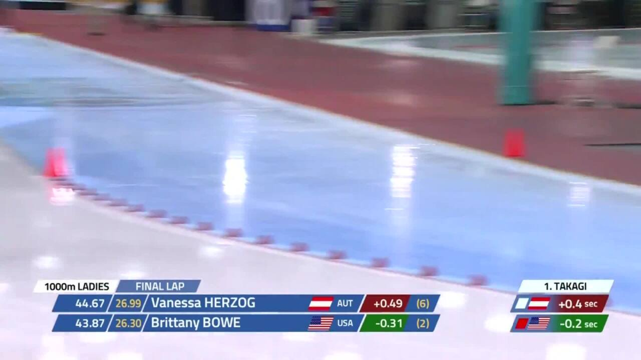 Brittany Bowe's World Record 1000m
