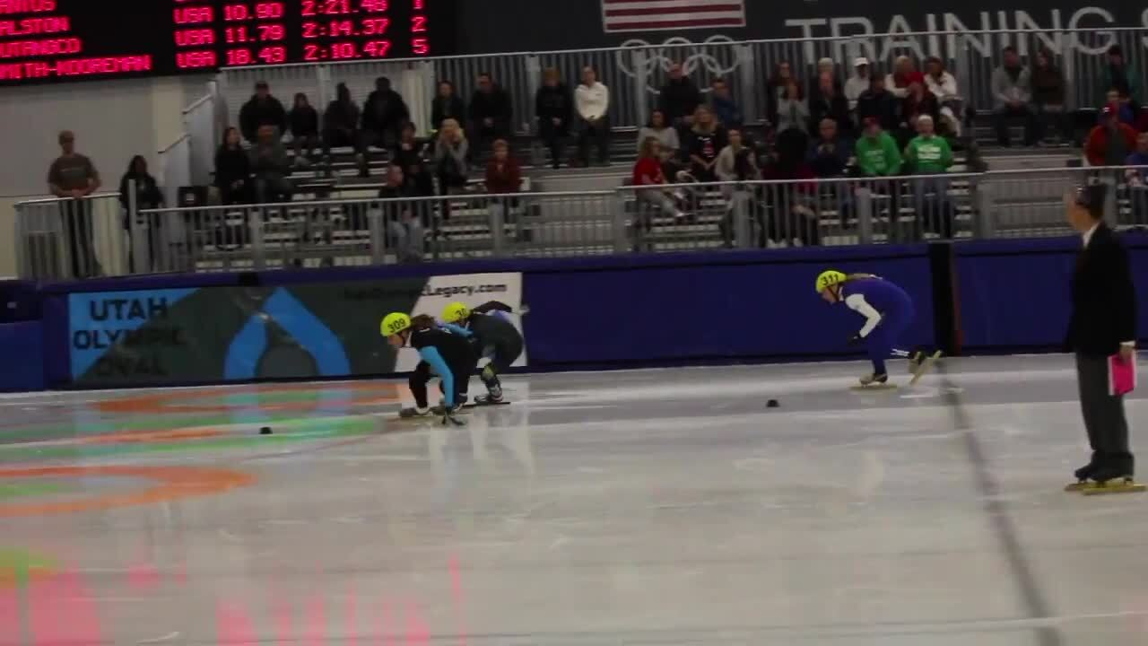 Day 1 2016-17 Short Track Fall World Cup Qualifers