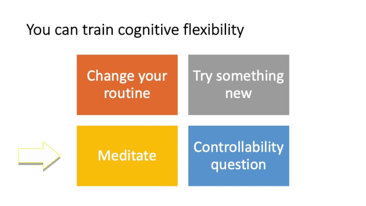Dr. Galli - Training Cognitive Flexibility