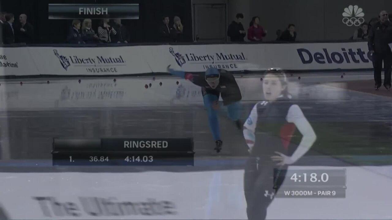 Rookard Roars Back To Make Olympic Team | 2014 U.S. Olympic Trials Speed Skating