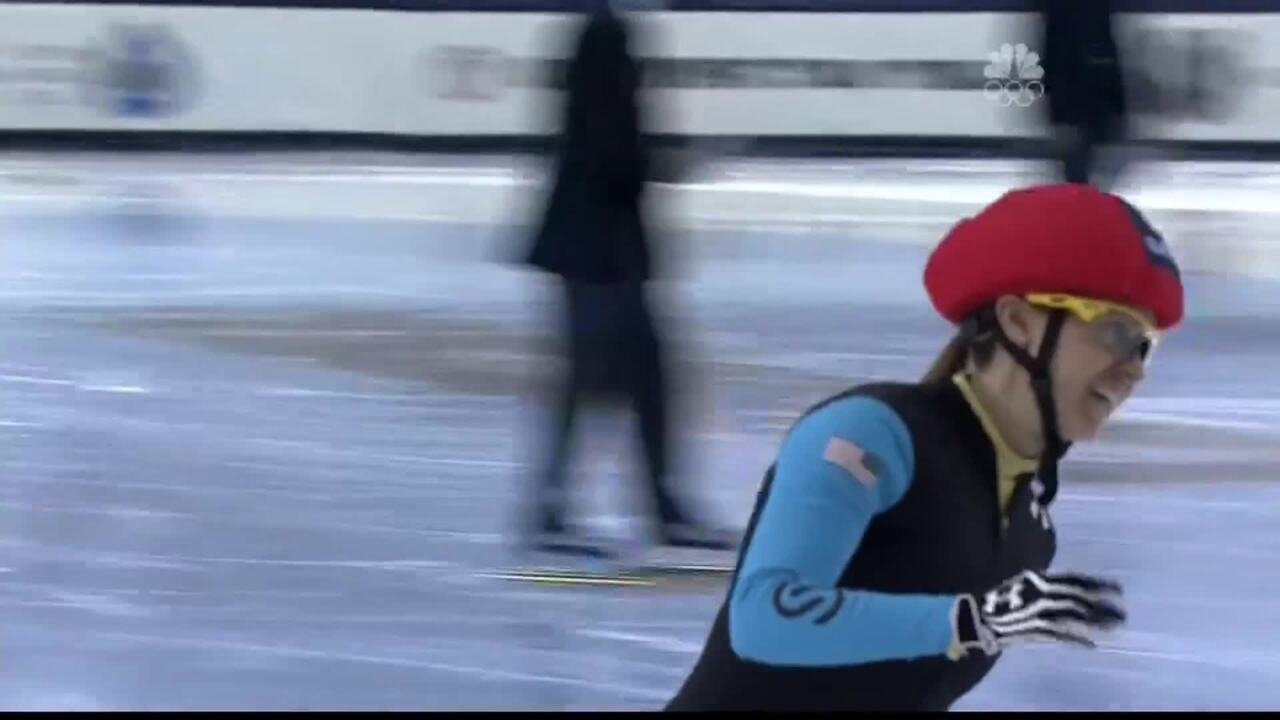 Jessica Smith Grabs Her Third Win At The Trials | U.S. Olympic Trials Short Track Speedskating