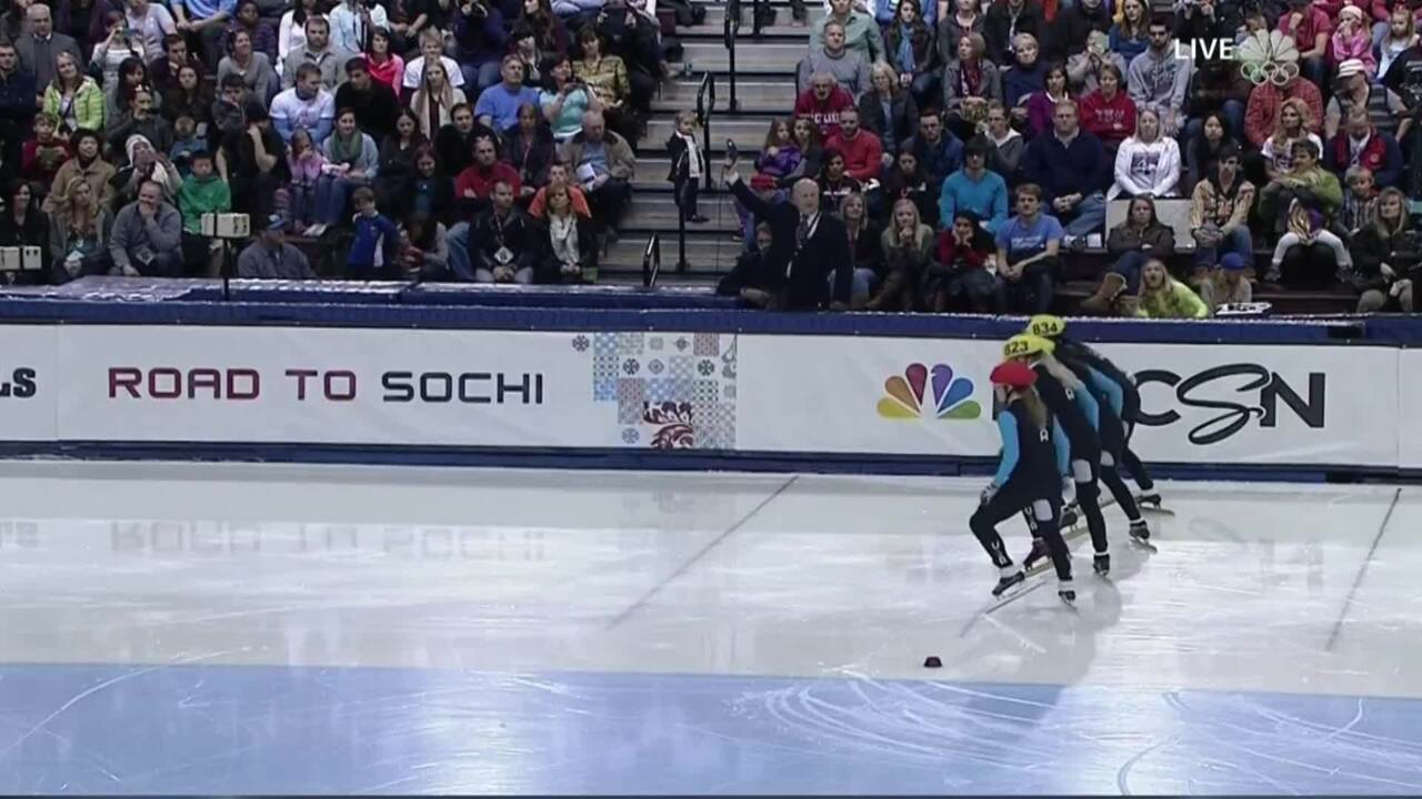 Jessica Smith Grabs Her Second Win At The Trials | U.S. Olympic Trials Short Track Speedskating