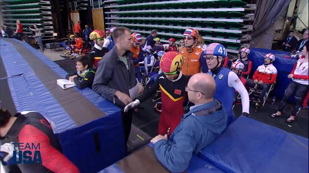 500m Preliminary Round | Apolo Ohno Invitational | Team USA