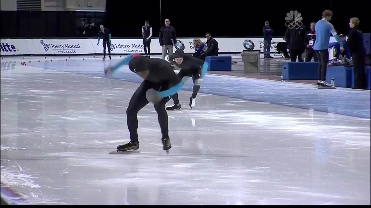 Shani Davis: History In The Making | 2014 U.S. Olympic Trials Speedskating