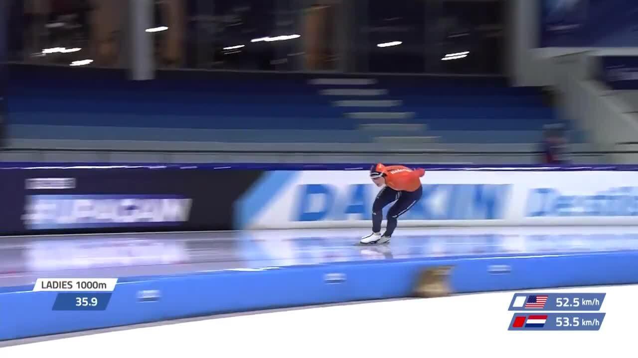 Brittany Bowe 1000m GOLD LTWCH