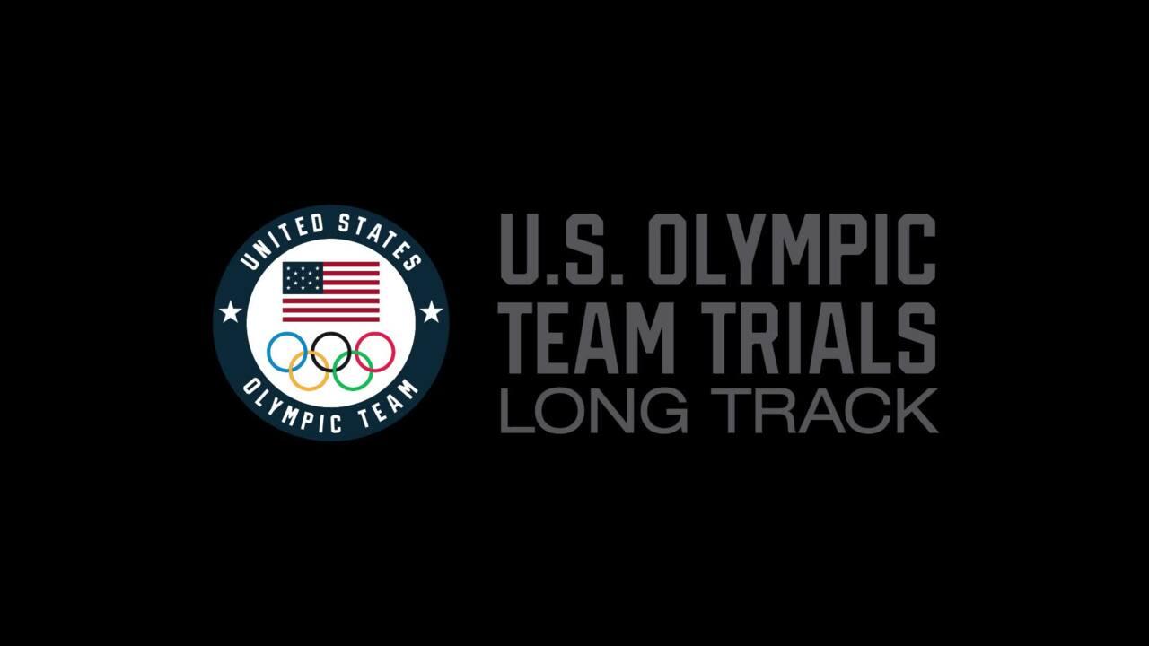 Shani Davis - Day 2 U.S. Olympic Team Trials