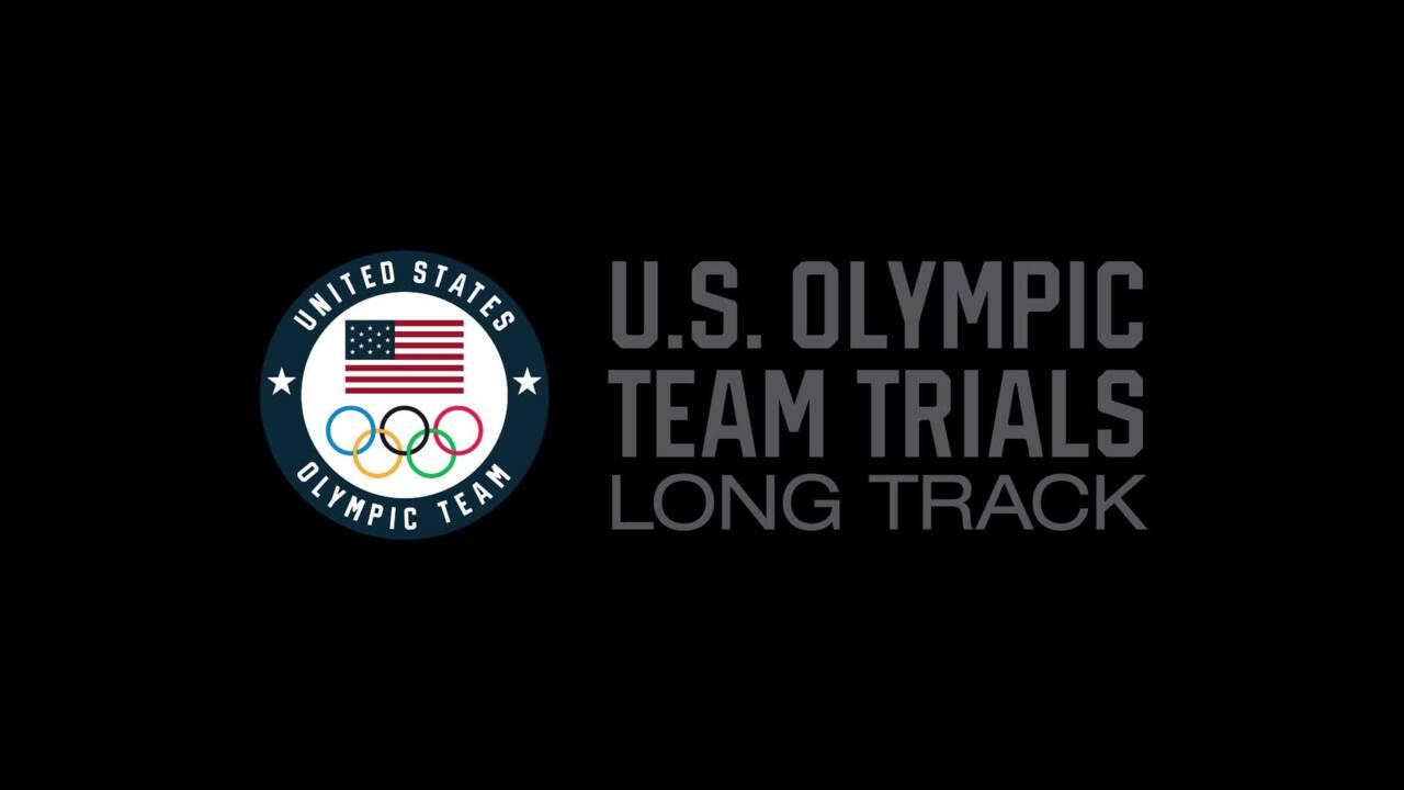 Heather Bergsma - Day 2 U.S. Olympic Team Trials