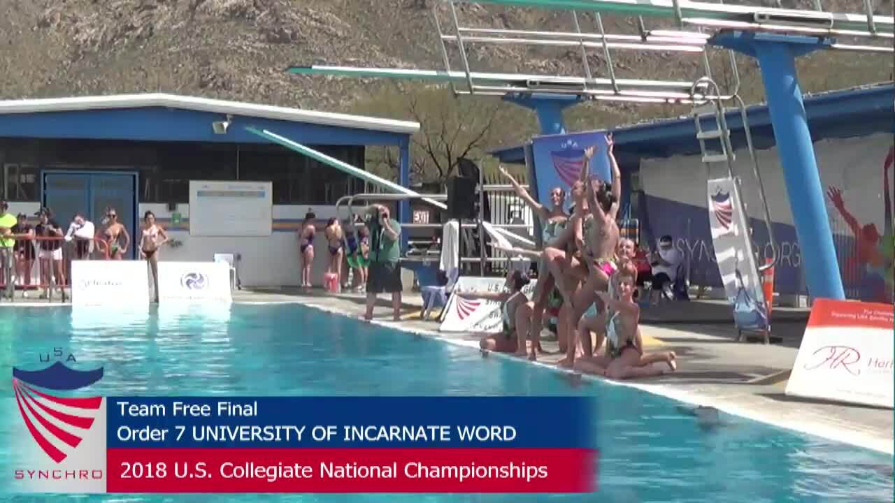 2018 COLLEGIATES Team Finals
