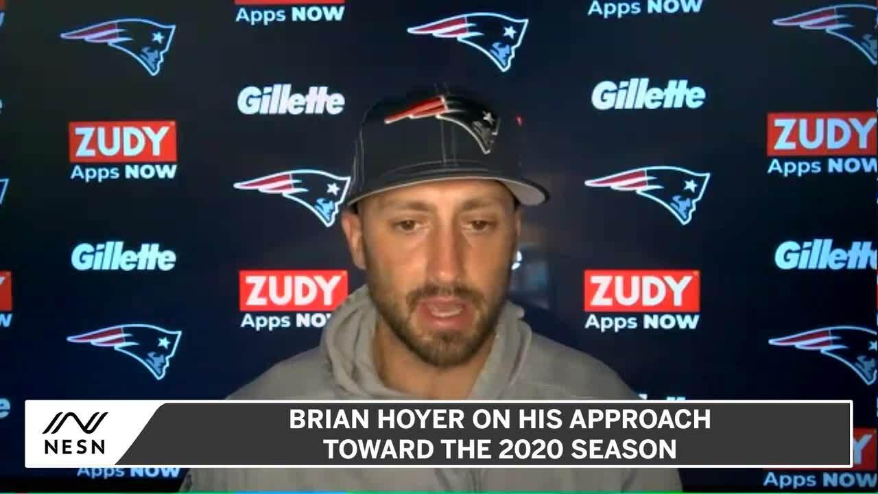 How Brian Hoyer Feels About Patriots Possible Quarterback Platoon Nesn Com