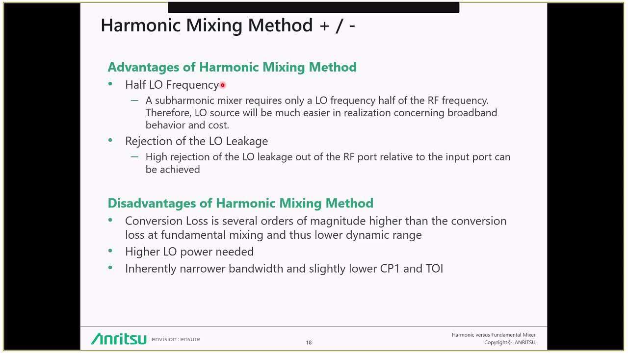 Fundamental Mixing vs Harmonic Mixing