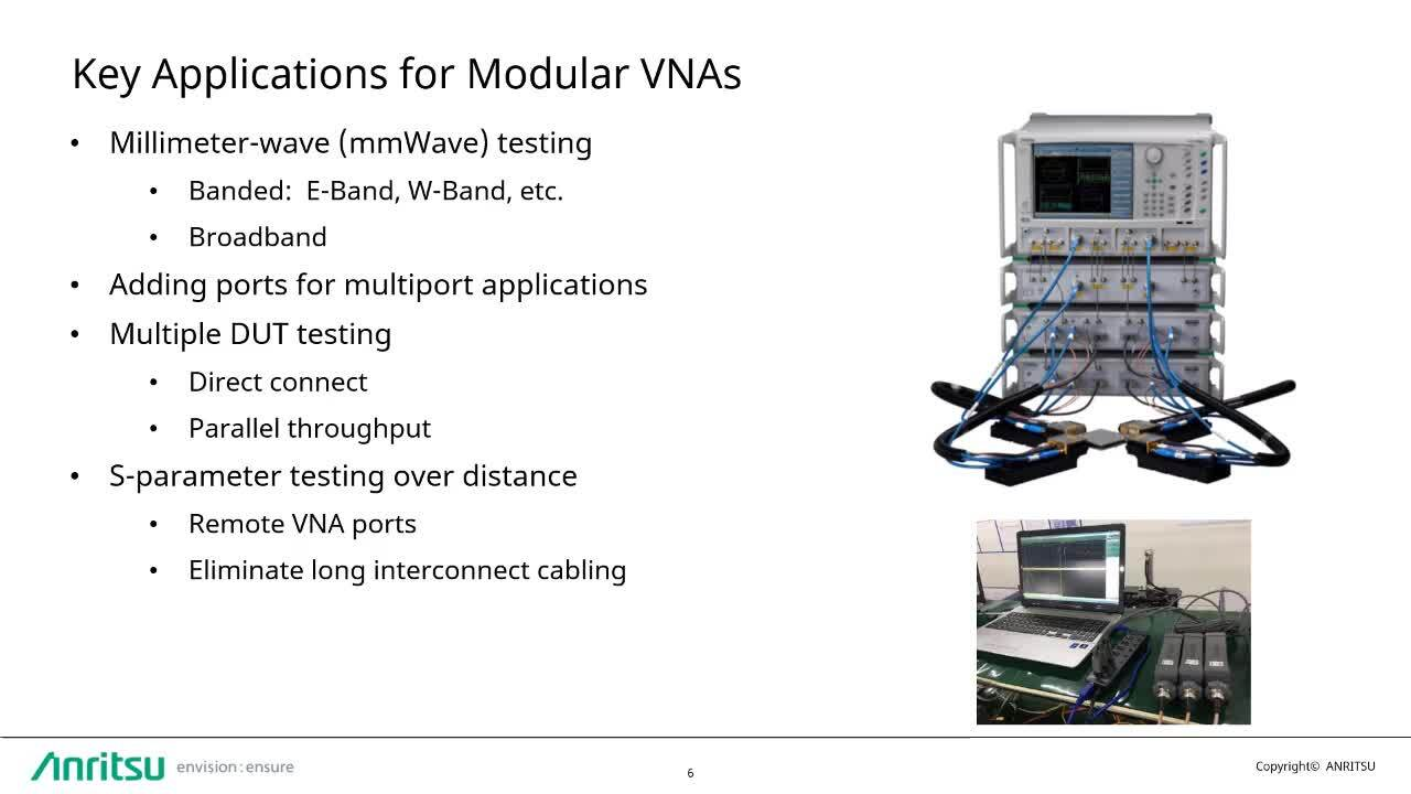Application Advantages of Modular VNA Architectures