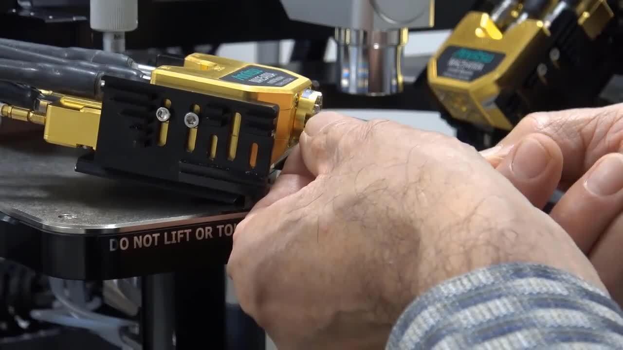 VectorStar ME7838G 220 GHz Broadband VNA Installation on Probe Station Including Probes
