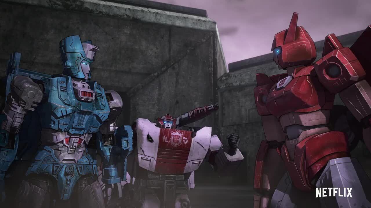 War For Cybertron: Earthrise Netflix Trailer