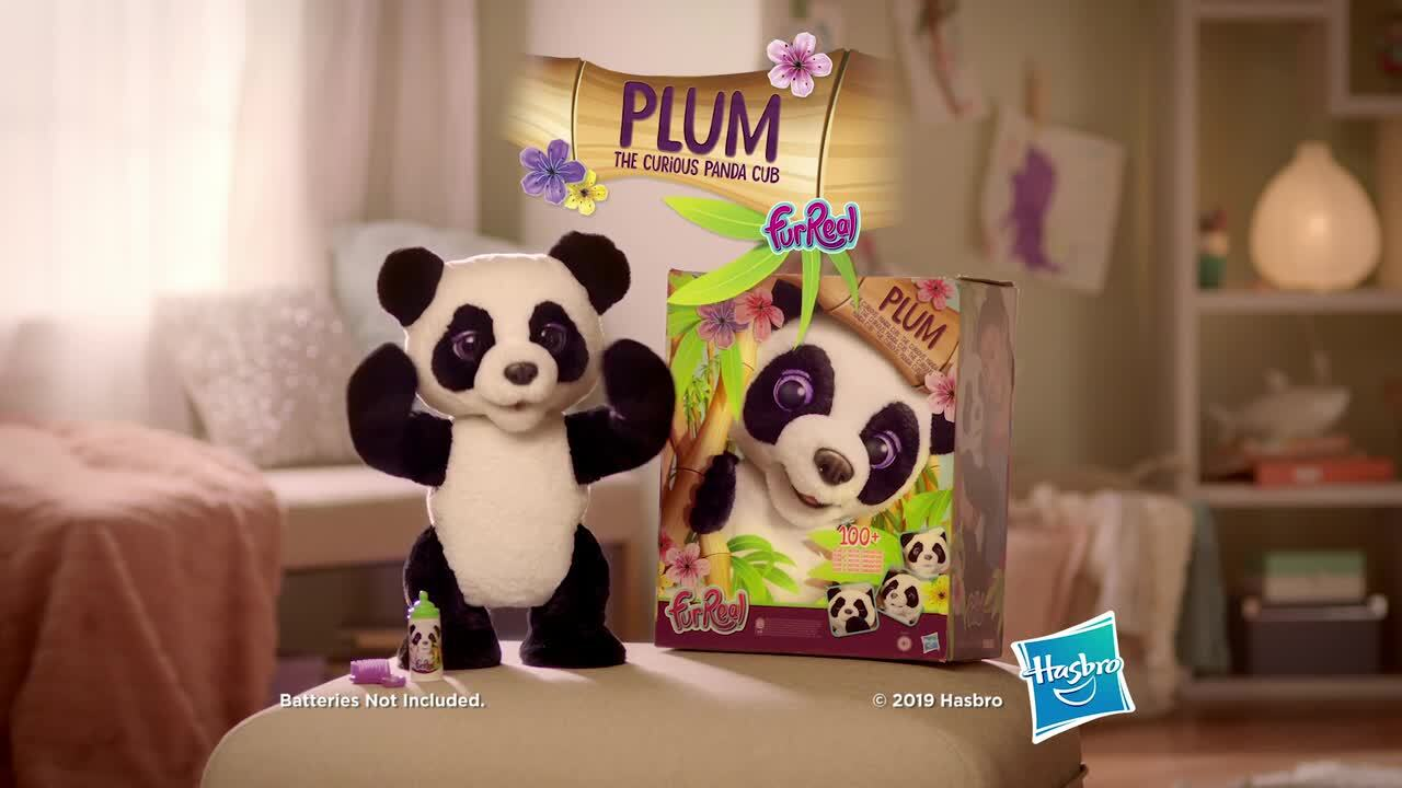 Meet furReal Plum The Curious Panda Cub