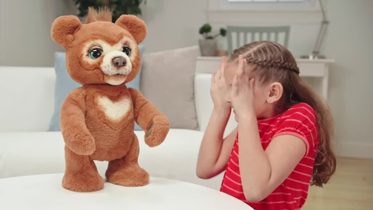 Furreal Cubby The Curious Bear How to Video