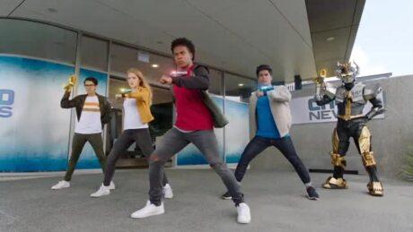 Power Rangers Beast Morphers - Dönüşüm Sahneleri