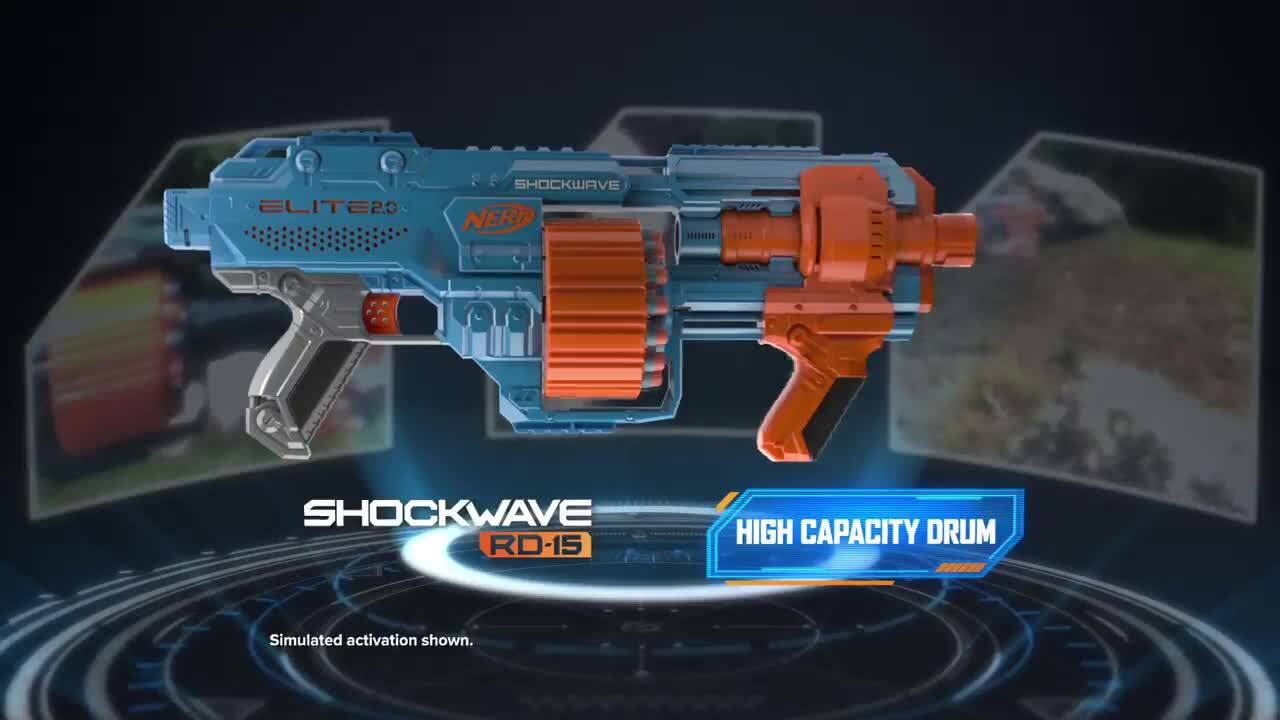 Elite 2.0 – Commander, Shockwave και Echo