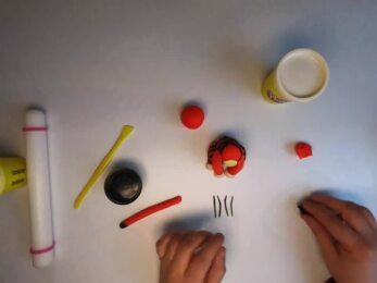 PLAY-DOH - Tuto modeler un lion stop-motion
