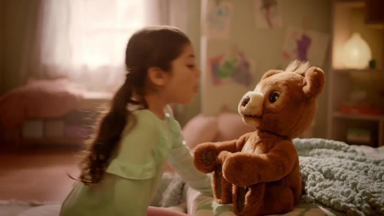 Meet furReal Cubby The Curious Bear