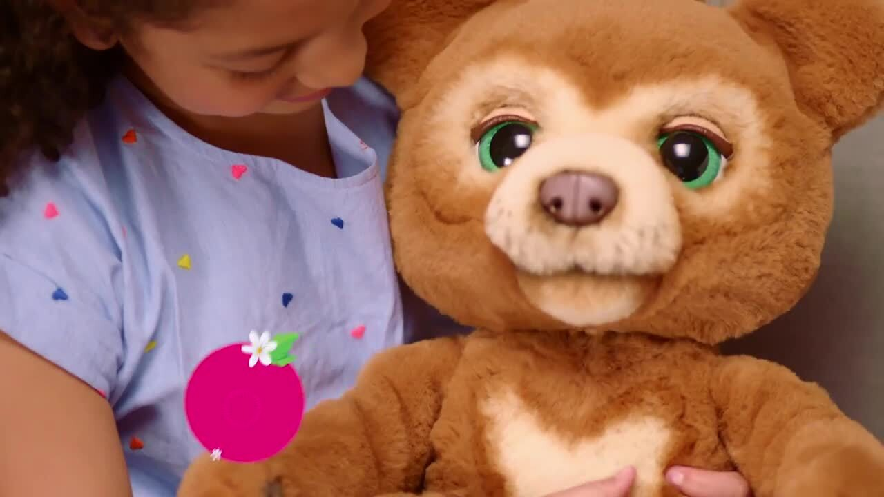 Introducing Cubby The Curious Bear from furReal