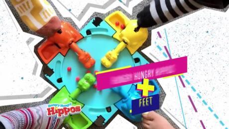 HASBRO GAMING Nouvelles idées pour jouer différemment ! Qui est ce?, Hippos Gloutons, Docteur Maboul