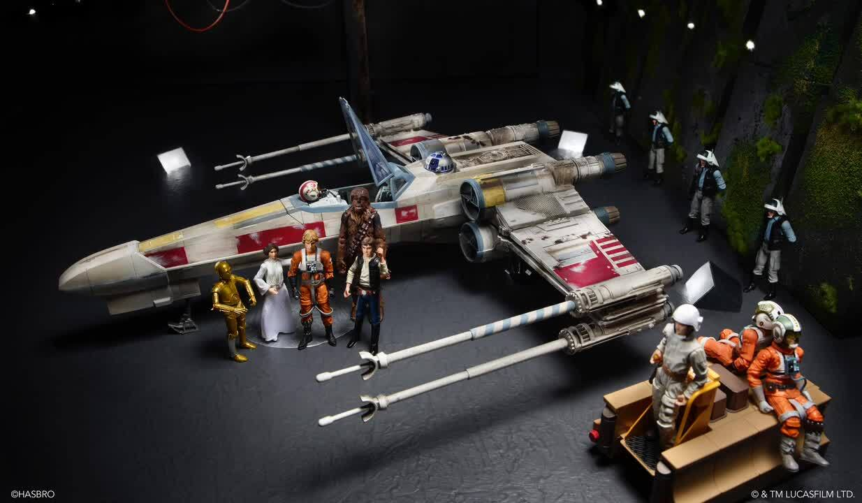 Star Wars in Close-up:<br>A Galaxy of Memorable Dioramas