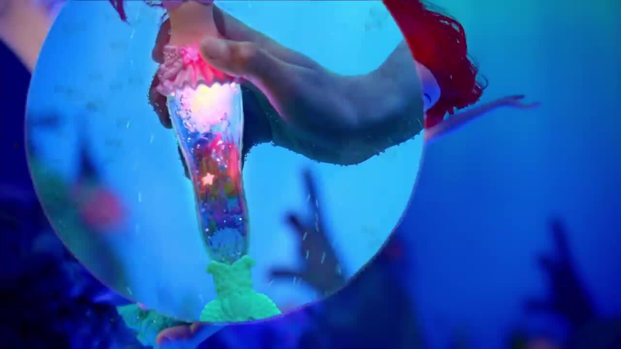 Λάμψτε από μέσα με την Μαγική Ariel με Glitter