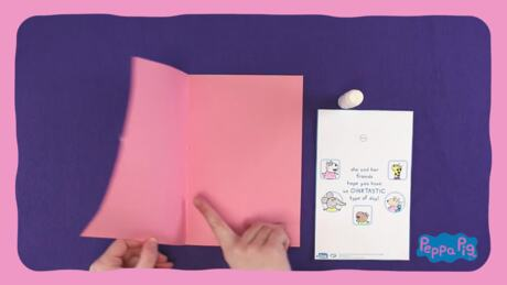 Peppa Pig: Kutlama Kartı Yapımı