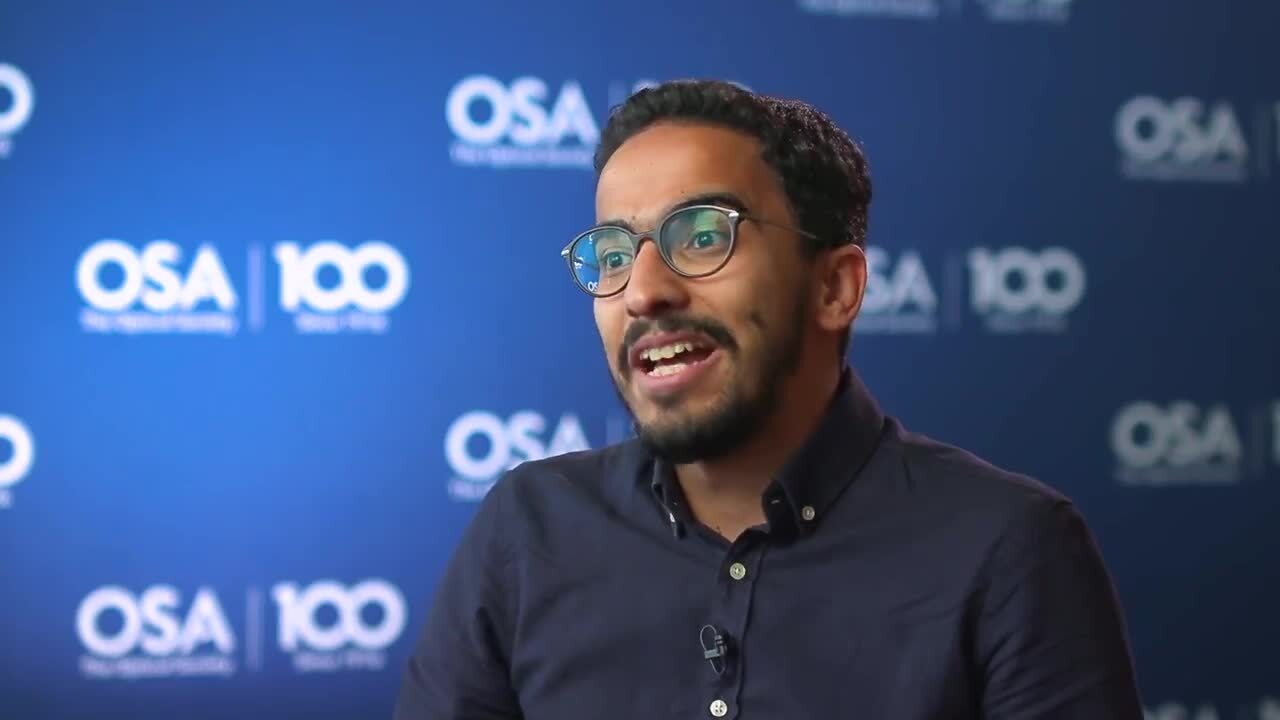 Hesham Sakr tells about why he decided on a career in optics--OSA Stories