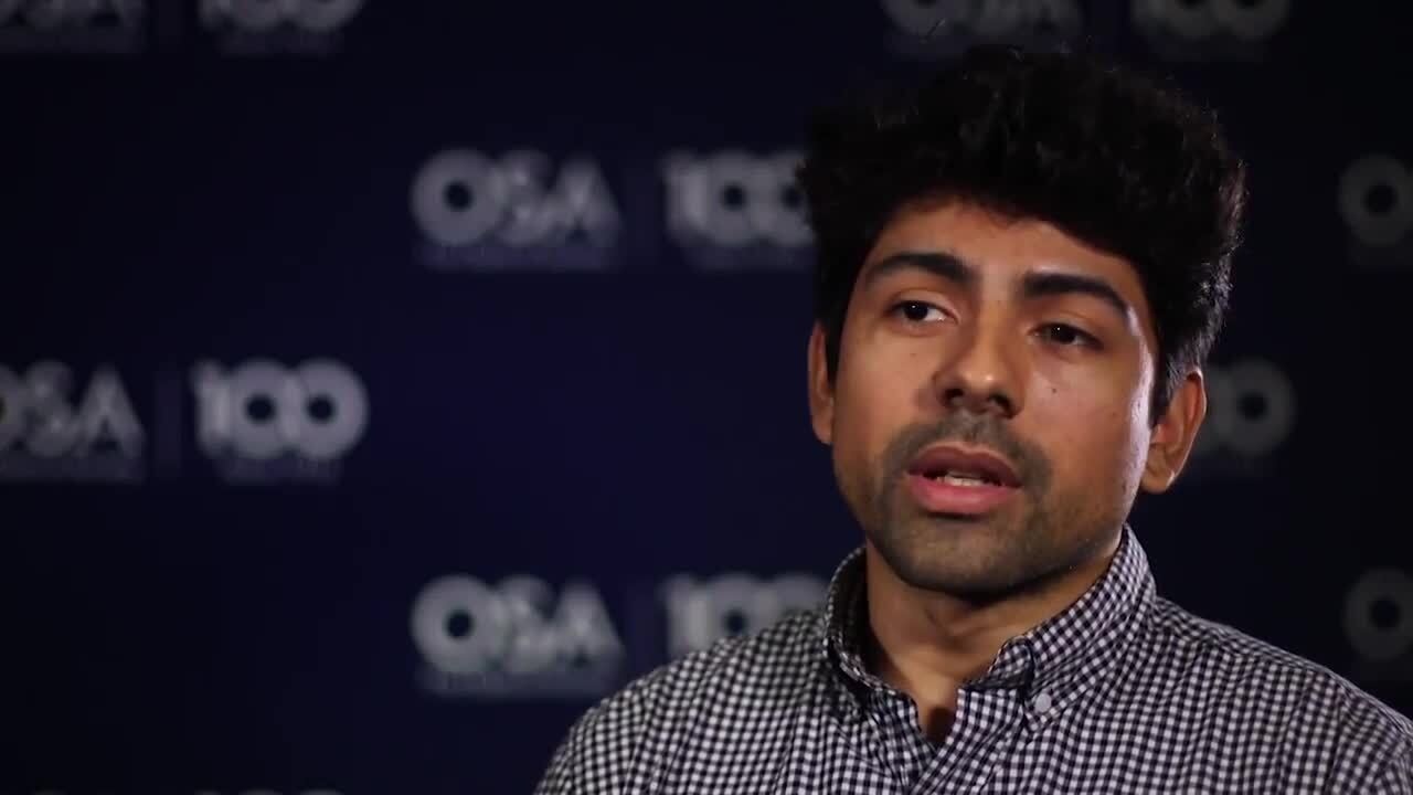 Carlos German Carreño Romano talks about OSA's Student Leadership Conference--OSA Stories
