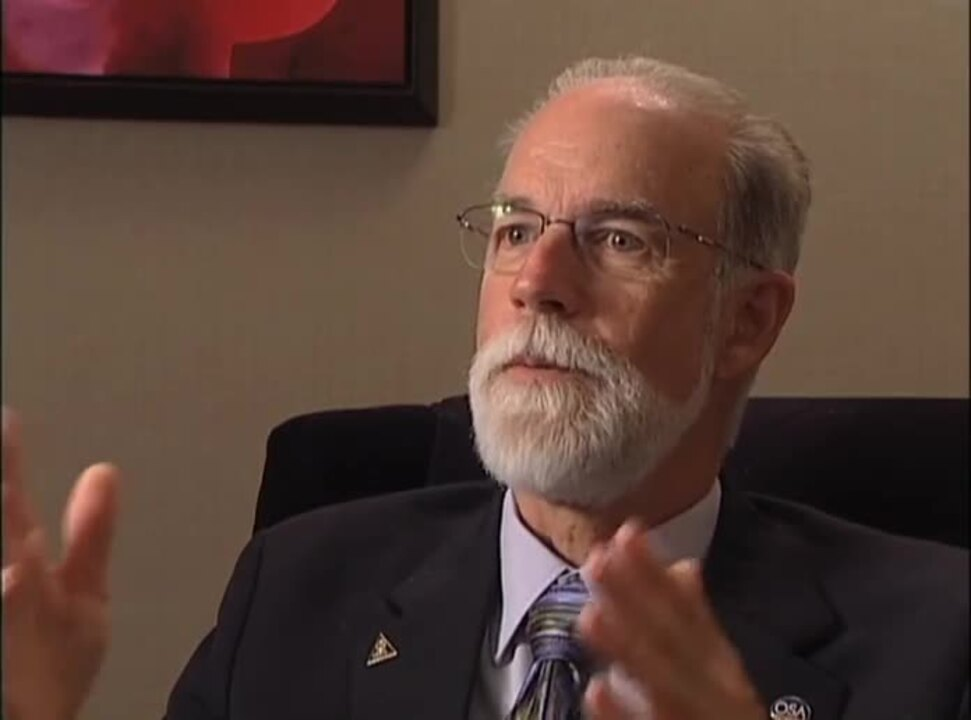 2013 Interview with 2006 OSA President Eric Van Stryland