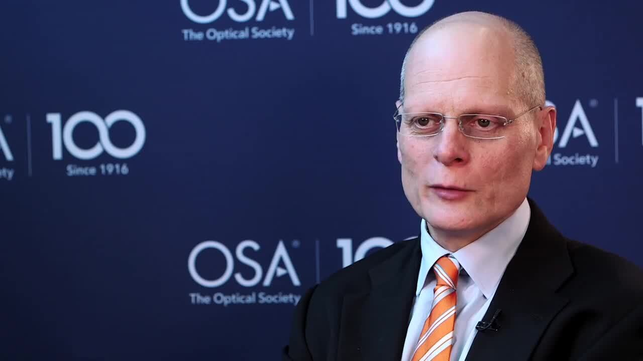Ian Walmsley talks about OSA--OSA Stories