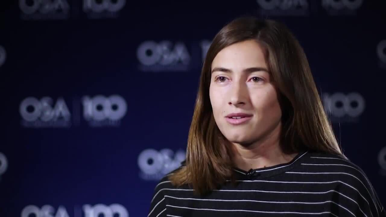 Tali Septon talks about who inspired her along the way--OSA Stories