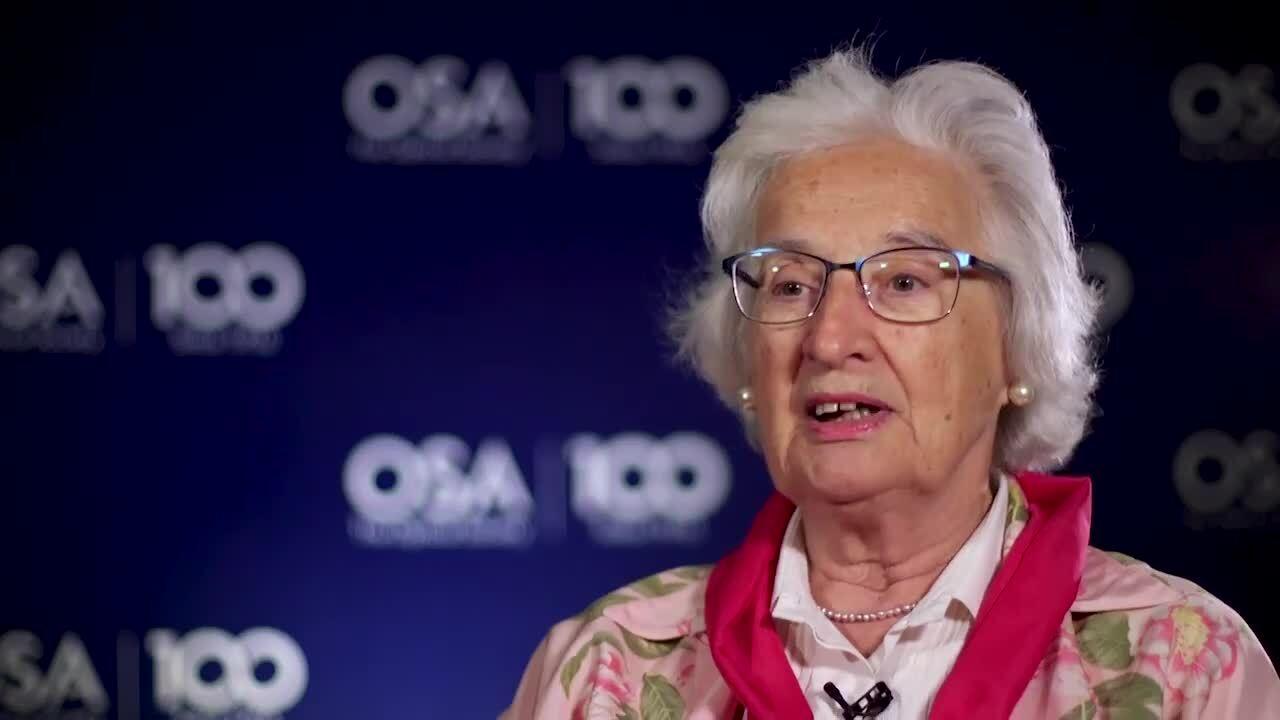 Anna Consortini recalls the 2010 LaserFest Gala--OSA Stories