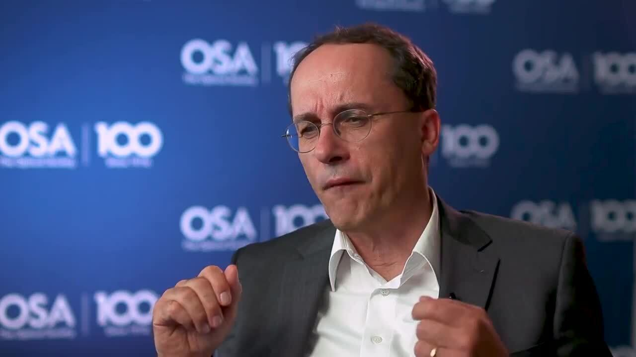 Andreas Thoss talks about his work--OSA Stories