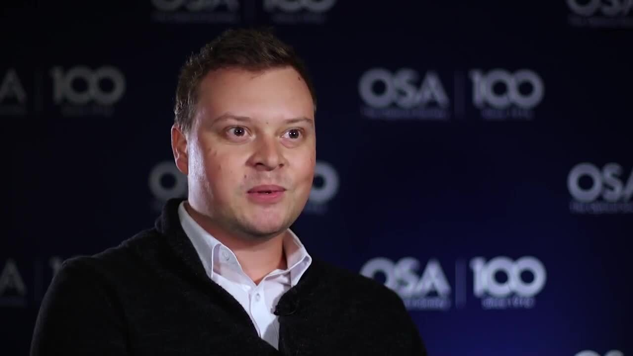 Robin Puchert discusses what he enjoys most about his work--OSA Stories