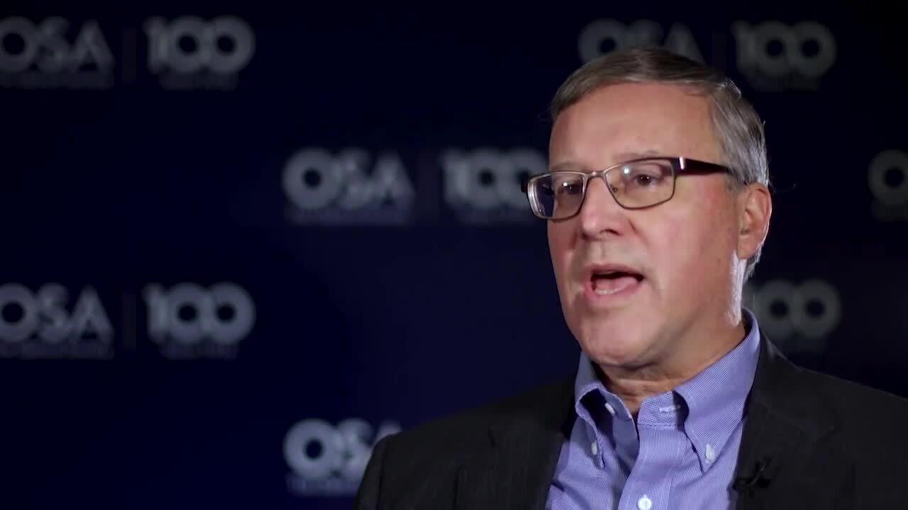 John Dexheimer recalls how he got into optics--OSA Stories