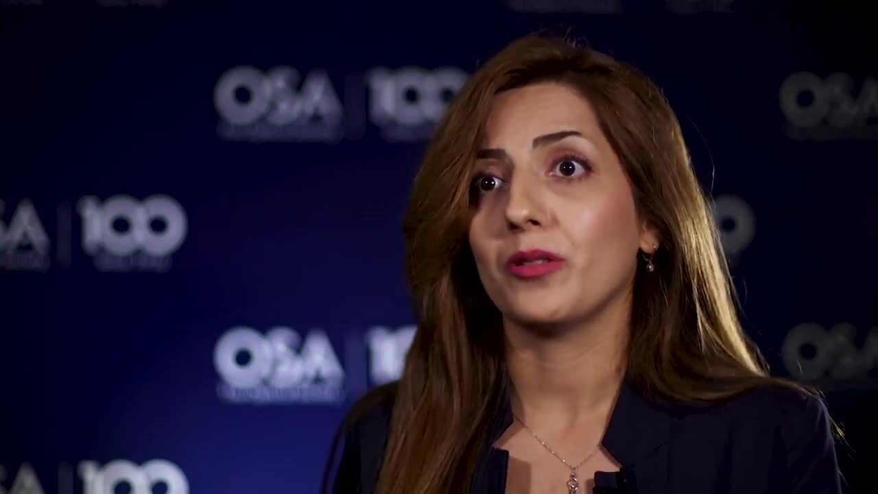 Aysan Bahari shares her thoughts on mentorship--OSA Stories