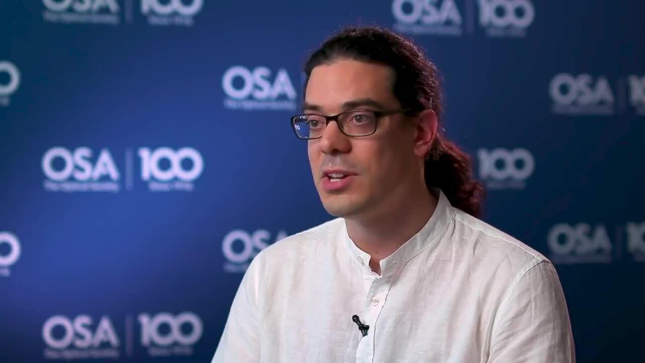 Leonardo Del Bino discusses diversity--OSA Stories