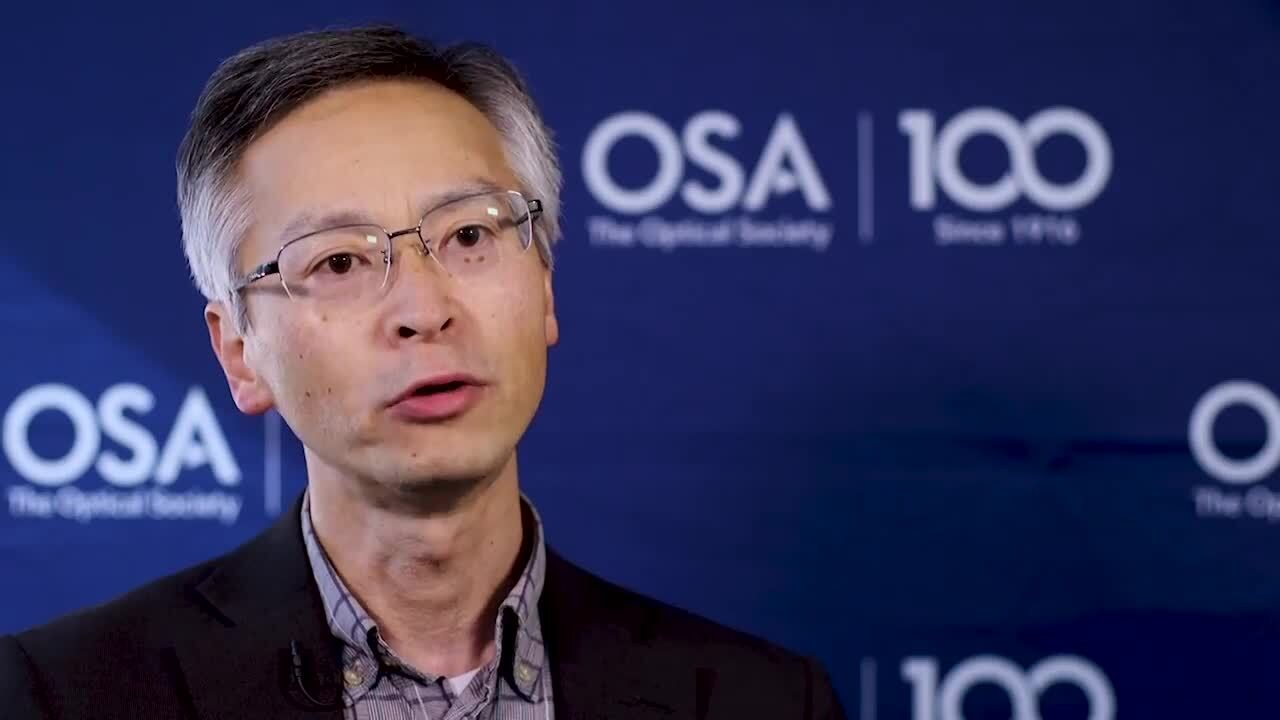 Takamasa Suzuki shares his story about how he came to work in optics--OSA Stories