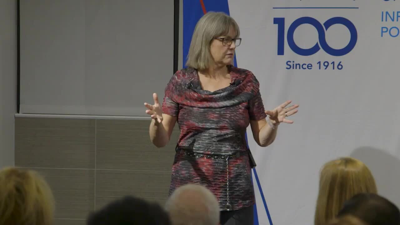 2018 Nobel Prize winner, Donna Strickland, Remarks at The Optical Society