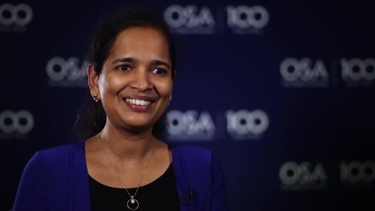 Neethu Mariam Mathew talks about the importance of diversity--OSA Stories