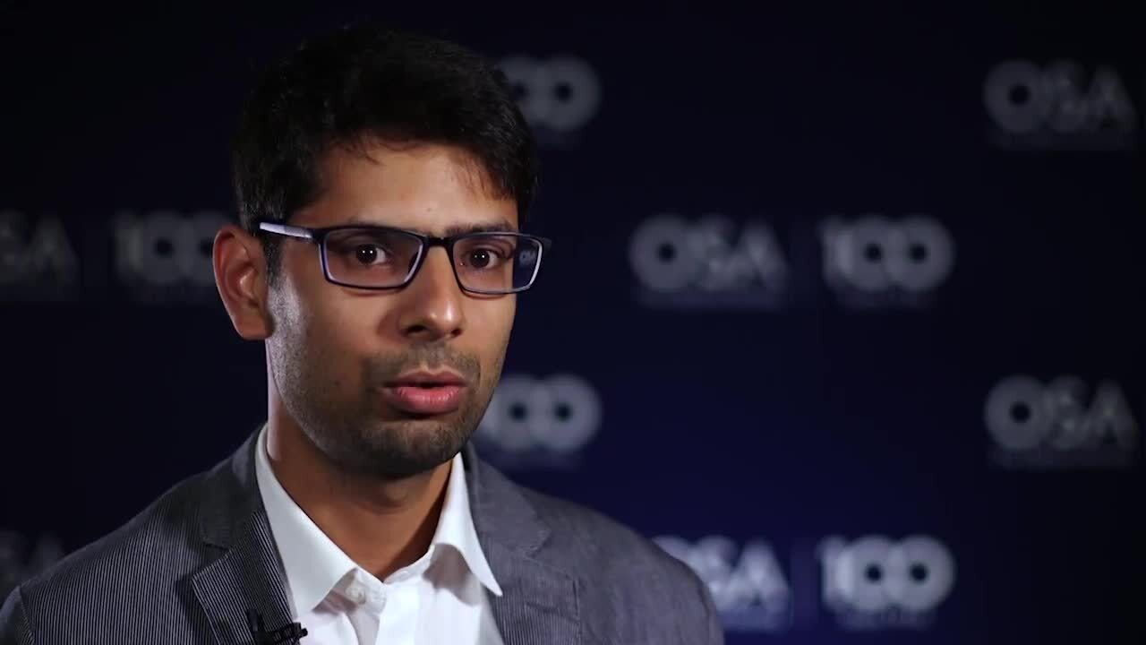 Prateek Mishra recalls when he became interested in optics--OSA Stories